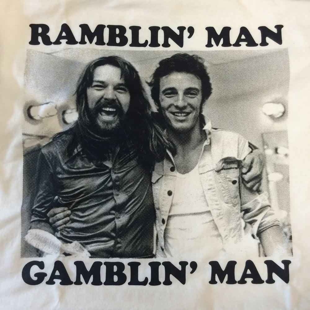 Image of Ramblin' Man Gamblin' Man - tshirt