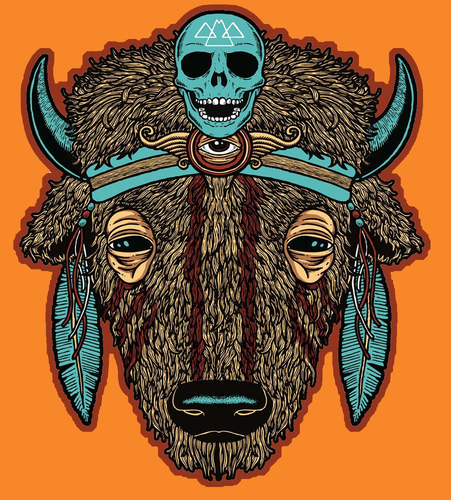 "Image of ""BUFFALO"" sticker"