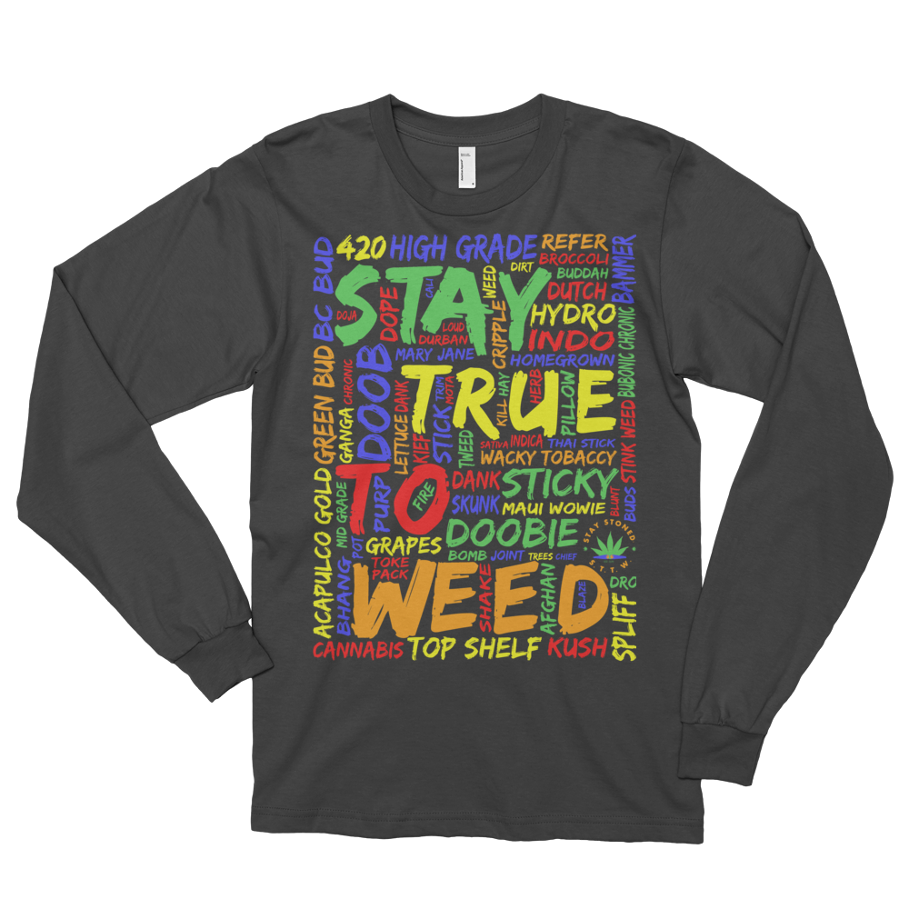 Image of WeedWords Long Sleeve Shirt