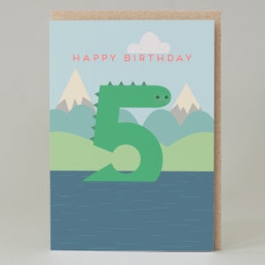 Image of Nessie Age Cards (Ages 1-5)