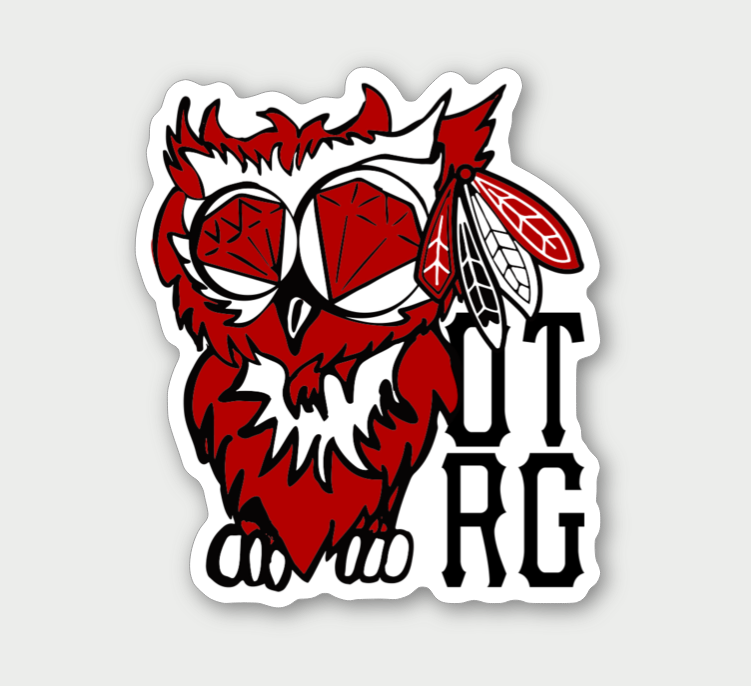 Image of CHICAGO OTRG OWL STICKER
