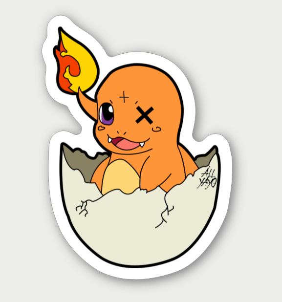 Image of Charmander Sticker