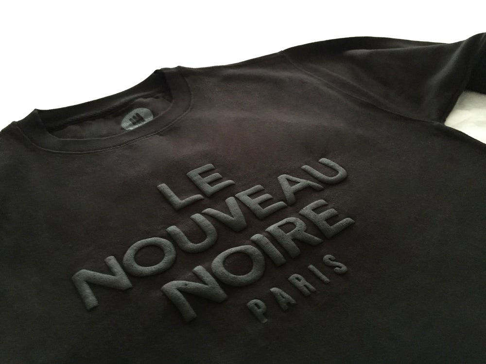 """Image of N 9 """"The New Black"""" Crew Sweater"""
