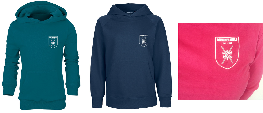 Image of Lowther Hills Ski Club Children's Hoodies