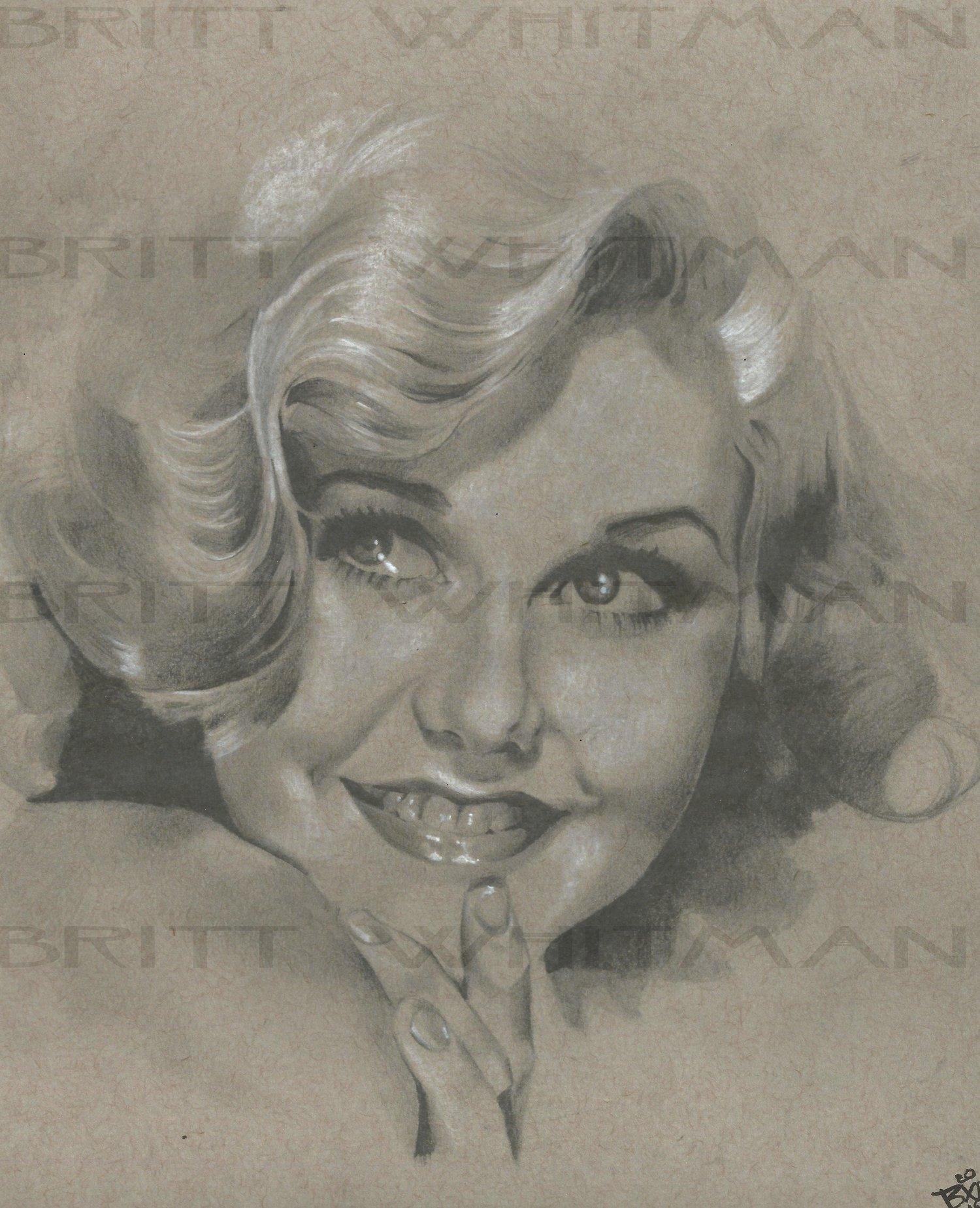 Ginger Rogers by Britt Whitman