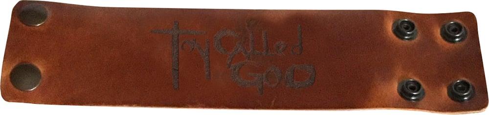 Image of TCG Lg Leather Bracelet