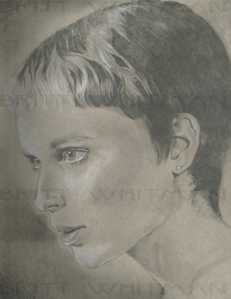 Image of Mia Farrow by Britt Whitman