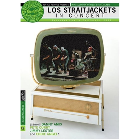 "Image of LOS STRAITJACKETS ""IN CONCERT"" DVD"