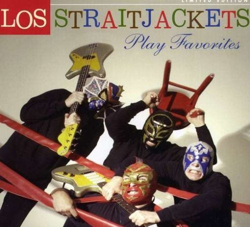 "Image of LOS STRAITJACKETS ""PLAY FAVORITES"" CD"