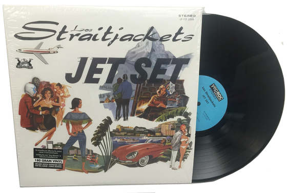 "Image of LOS STRAITJACKETS ""JET SET"" LP"
