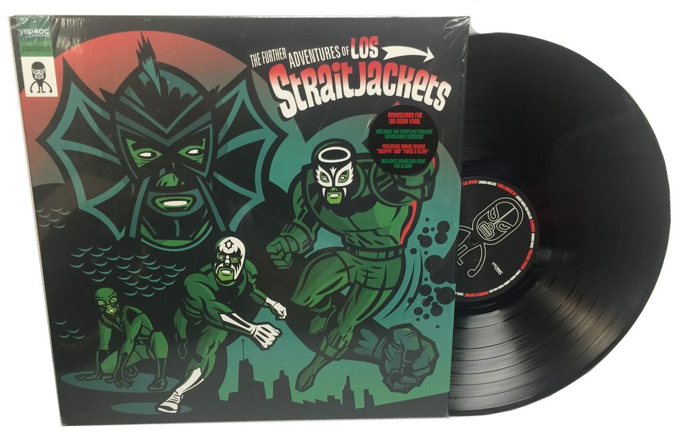 """Image of LOS STRAITJACKETS """"THE FURTHER ADVENTURES OF LOS STRAITJACKETS"""" LP"""