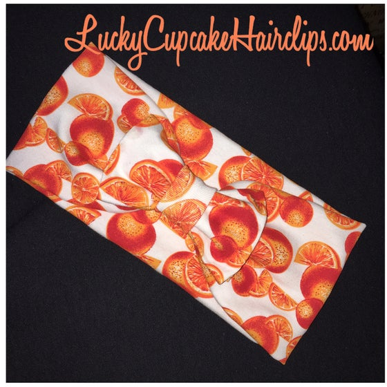 Image of Orange You Cute Turban