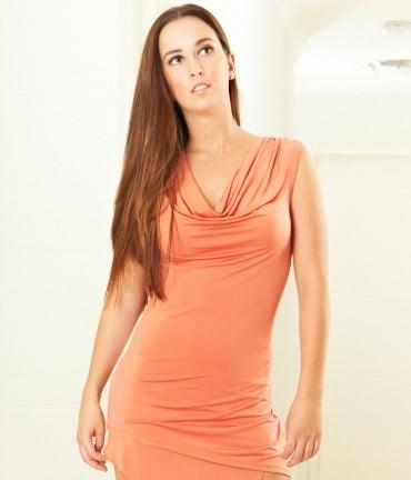 Image of Ava Top - Orange E1312