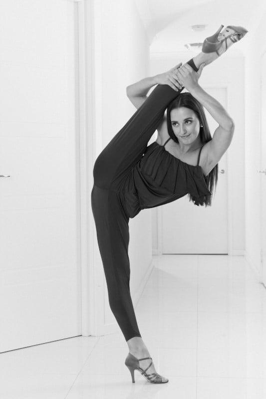 Image of JumpSuit - Black H5300 Dancewear latin ballroom
