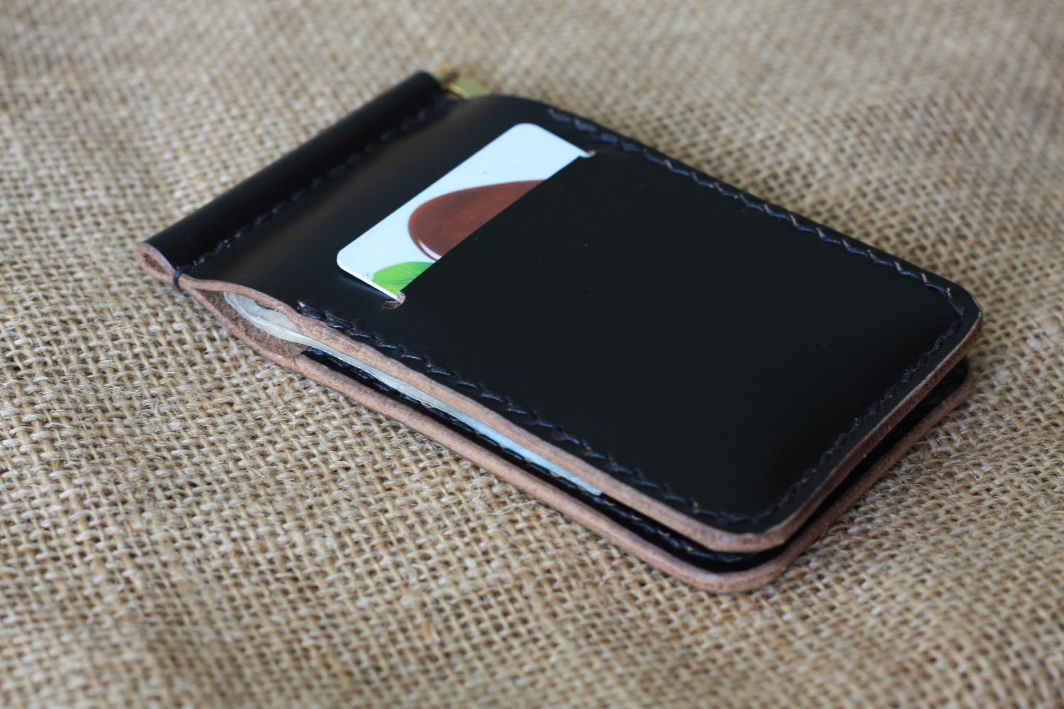 Image of Money Clip Bifold Wallet
