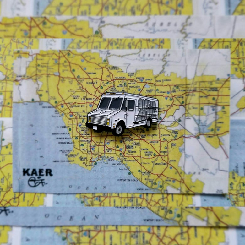 Image of Kaer67 Enamel Truck pin