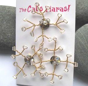 Image of Snowflake Hair Jewels