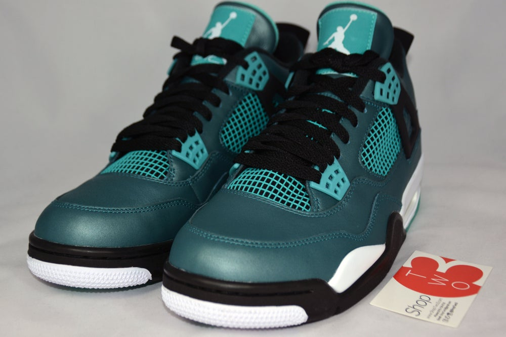 "Image of Air Jordan 4 Retro 30th ""Teal"""