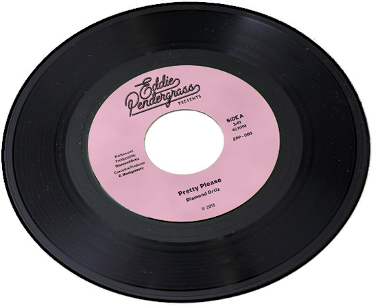 Image of Diamond Ortiz - Pretty Please / Freddy Fonk - It's A Shame 7""