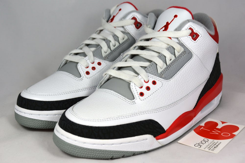 Image of Air Jordan 3 Retro Fire red 2006
