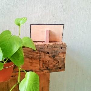 Set of 3 Slanting Mini Chalkboard (Use liquid chalk marker and regular chalk)