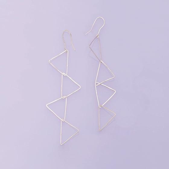 Image of Pendantes 4 triangles