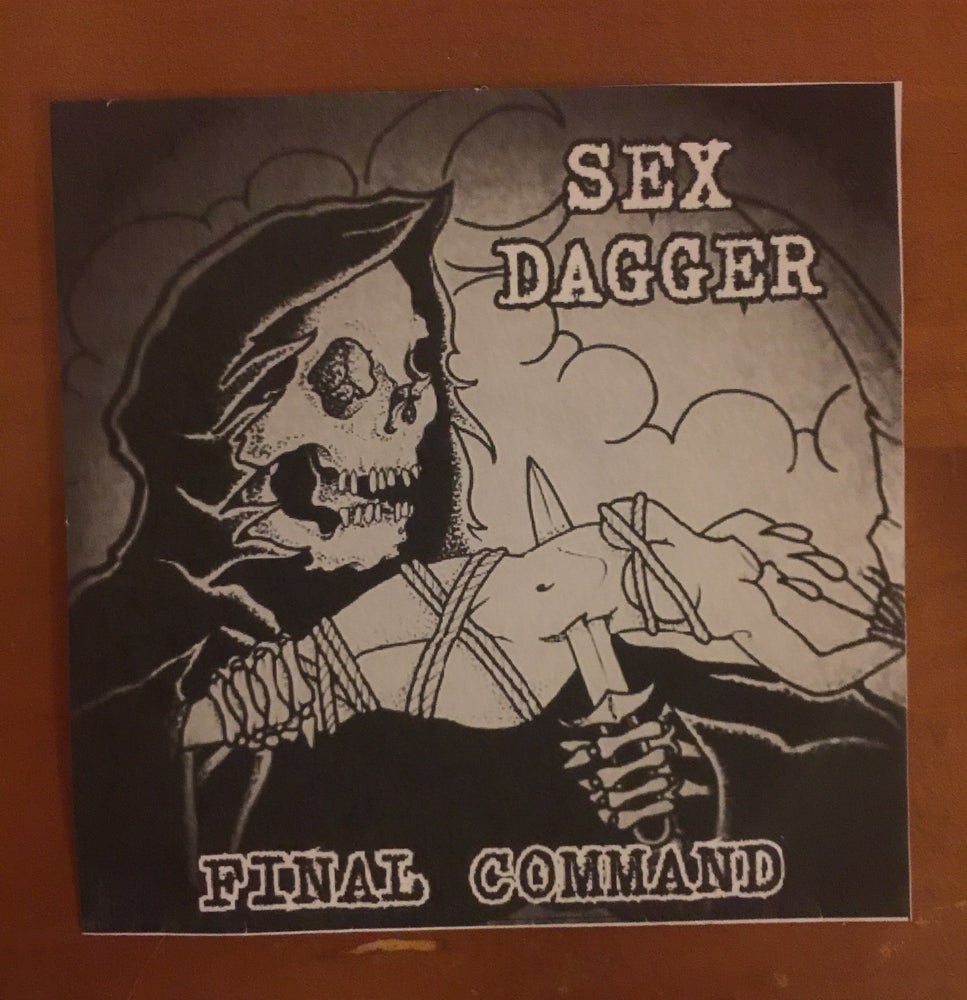 "Image of SEX DAGGER - ""FINAL COMMAND"" CD"