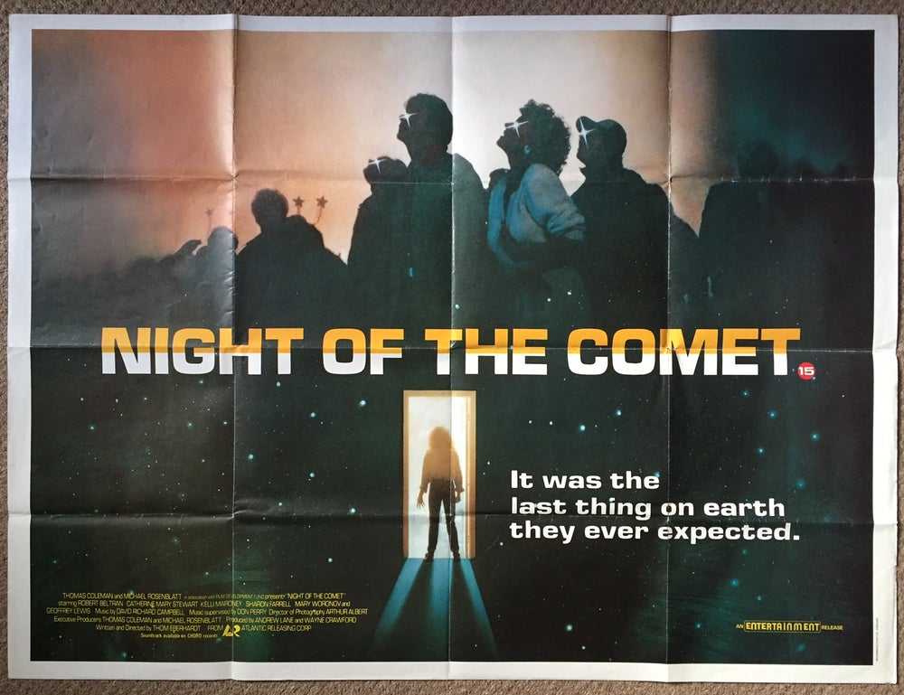 Image of Night of the Comet UK Quad