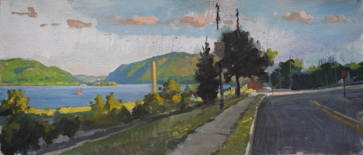 "Image of <font size=""2"">Paintings:</font><br>Afternoon Light on the Hudson"