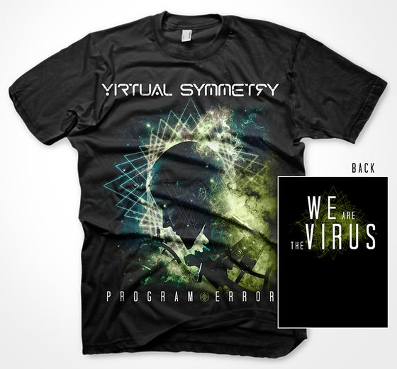 Image of Program Error (We Are The Virus) T-shirt