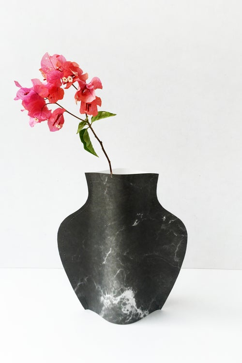 Image of Popup vase - Marble