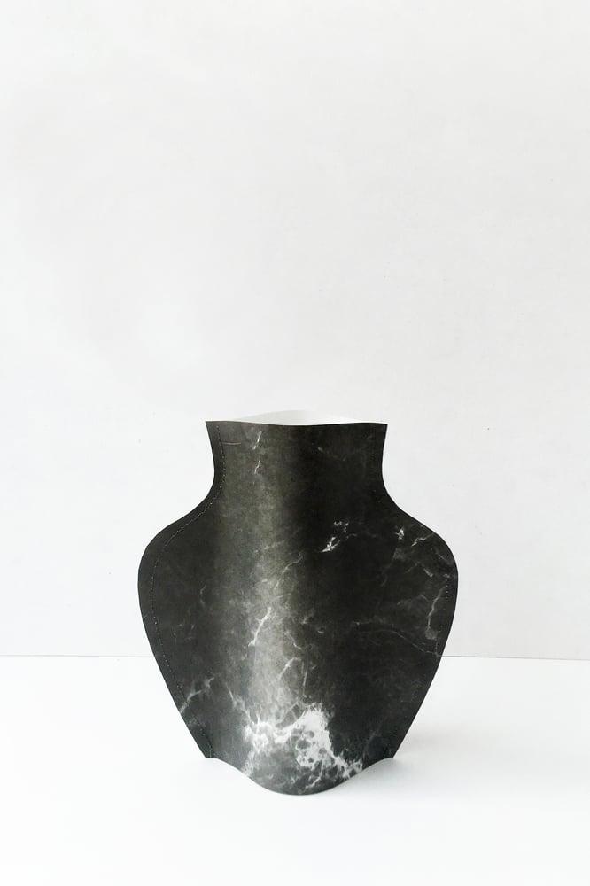 Image of Popup vase - Marble