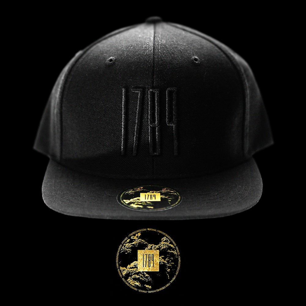 Image of 1789™ Black on Black Snapback