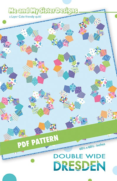 Image of Double Wide Dresden PDF pattern