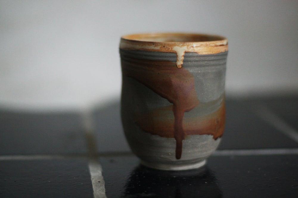 Image of Stoneware tumbler