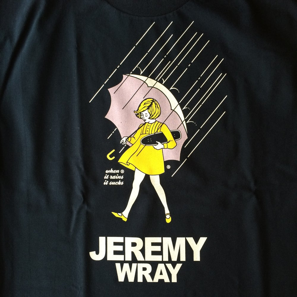 Image of Jeremy Wray Umbrella Girl Tee