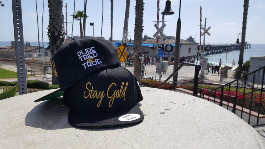 Image of Stay Gold Classic Snapback