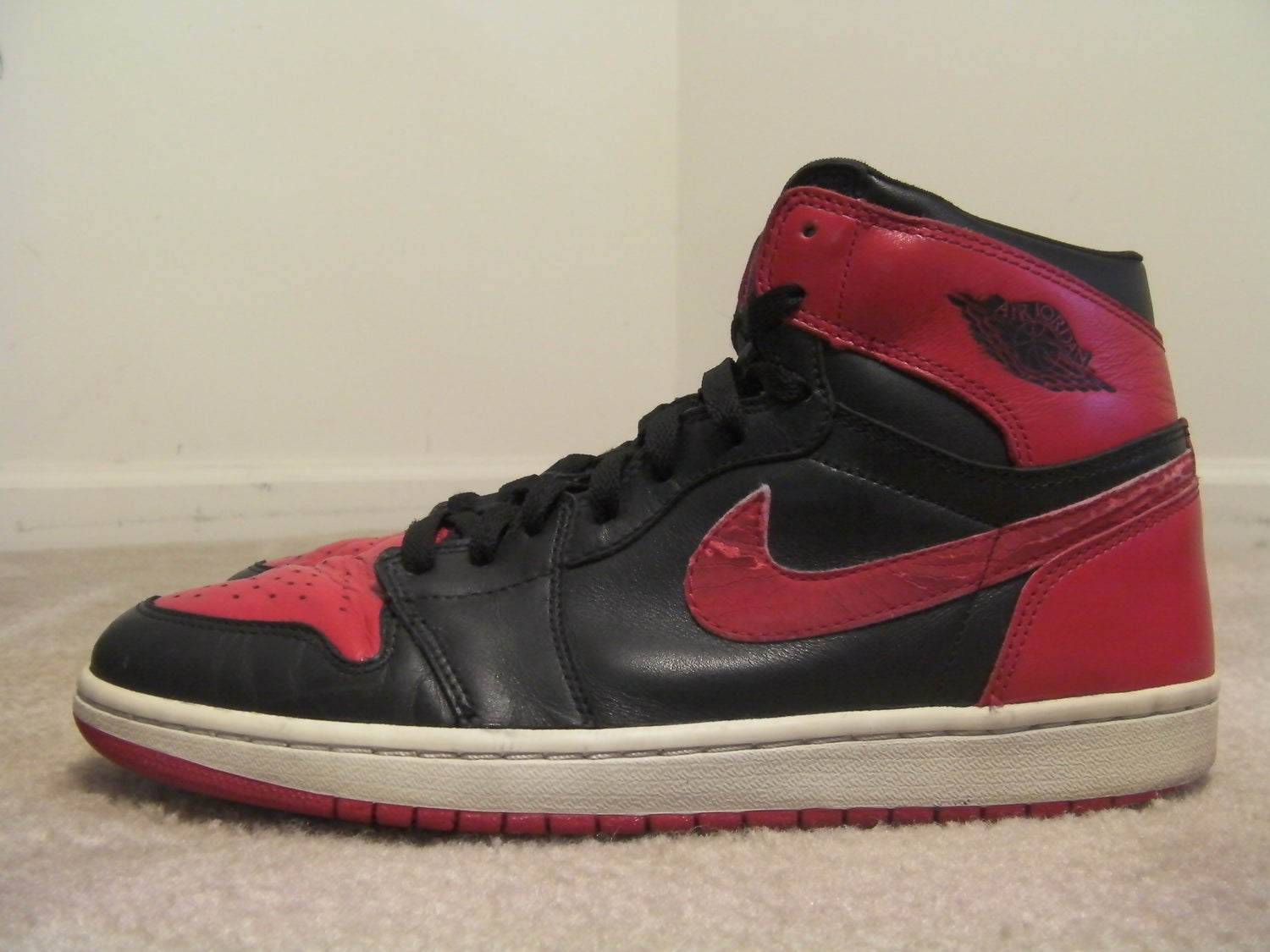 reputable site 39b3d 73251 Air Jordan 1 Bred 2001 size 10