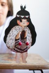 Poi Waiwaiā Paper Doll
