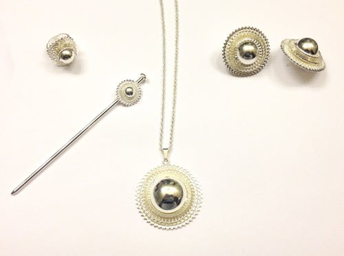 Image of TRADITIONAL NIFHO - silver