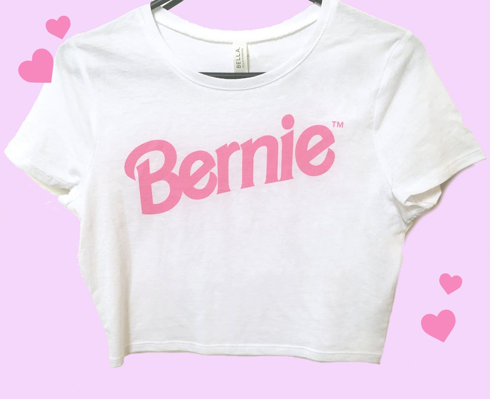Image of I'm a Bernie Girl Crop