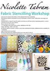 Fabric Stencil Workshop