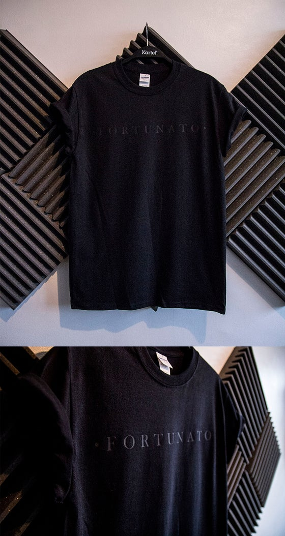 Image of Logo tee - Black on Black