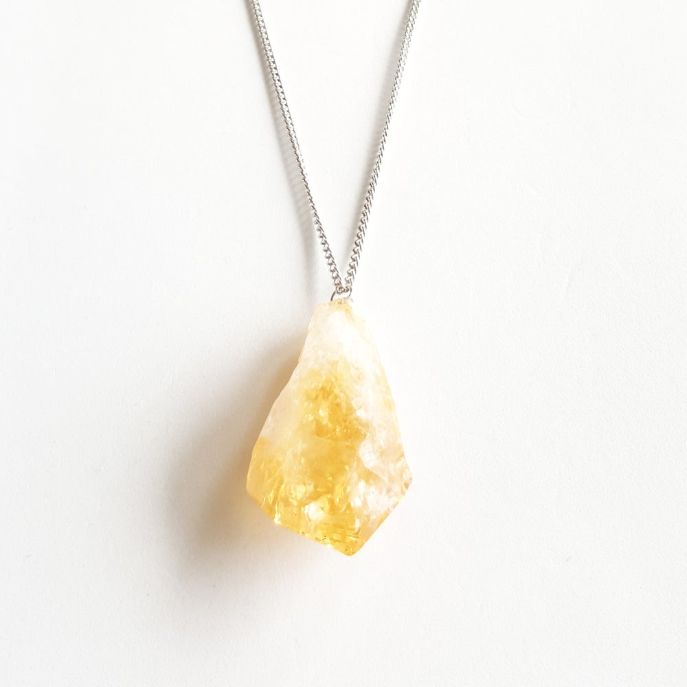 Image of Prosperity Necklace (Raw stone)