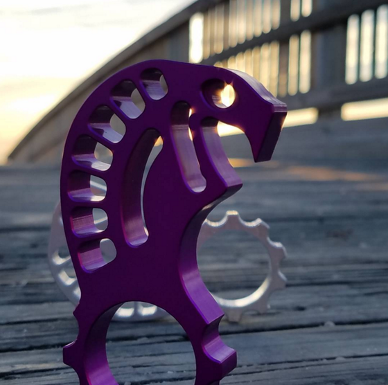 Image of Purple Kobra - Keychain Bottle Opener