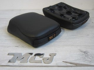 Image of MCJ COMFORT SADDLE WITH 6 SUCTION CUPS BLACK