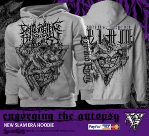 Image of ENGORGING THE AUTOPSY - New Slam Era Pullover Hoodie