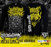 Image of INFECTING THE SWARM - Parasitic Mutation Longsleeve