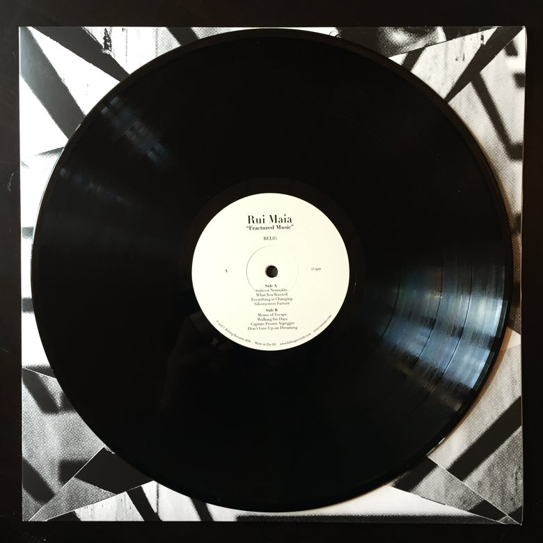 Image of Rui Maia - Fractured Music - Vinyl (Heavy Weight 180gr LP)