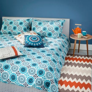 Image of Darjeeling Duvet Cover